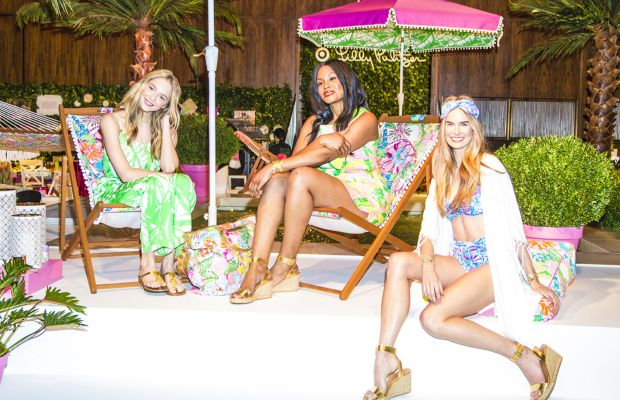 A preview of the Lilly Pulitzer for Target line. Photo: Target