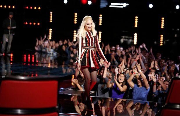 """Gwen Stefani on """"The Voice."""" Photo: Trae Patton/NBC"""
