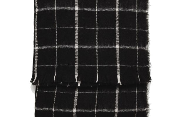Zara Soft Check Scarf, $25.90, available at Zara.