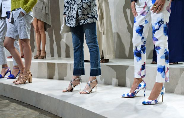 Banana Republic's spring 2016 presentation. Photo: Fernanda Calfat/Getty Images