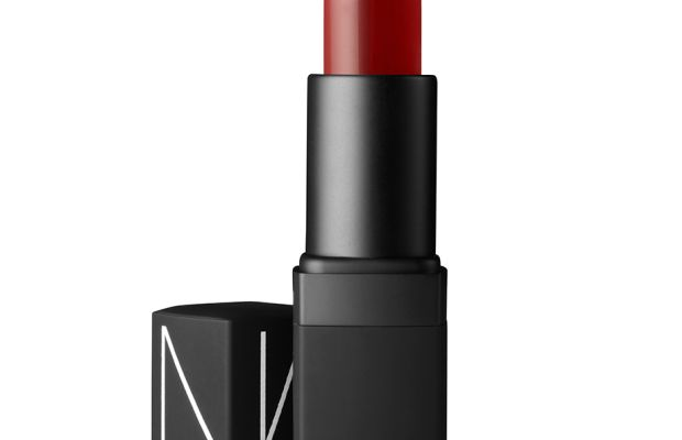 Nars Semi-Matte Lipstick in Shanghai Express, $27, available at Nars Cosmetics.