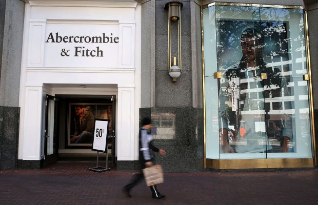 An Abercrombie & Fitch store. Photo: Justin Sullivan/Getty Images