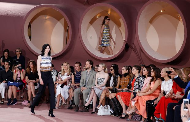 Celebrities, clients and industry members packed their bags for Dior's resort 2016 show at the Palais Bulle in Theoule sur Mer, France, this May — one of several off-season shows held in remote, glamorous locales this year. Photo: Didier Baverel/Getty Images for Dior