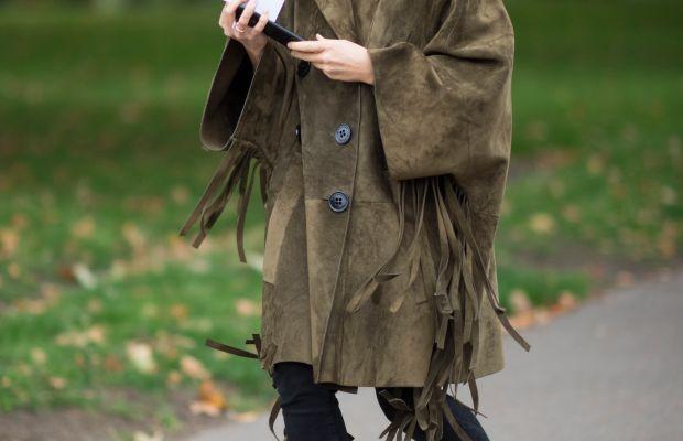Miroslava Duma at London Fashion Week in September. Photo: Timur Emek/Getty Images