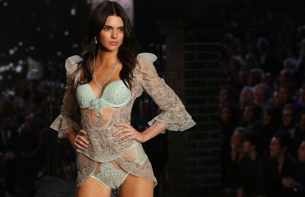 Kendall Jenner at the 2015 Victoria's Secret Fashion Show in November. Photo: Taylor Hill/Getty Images