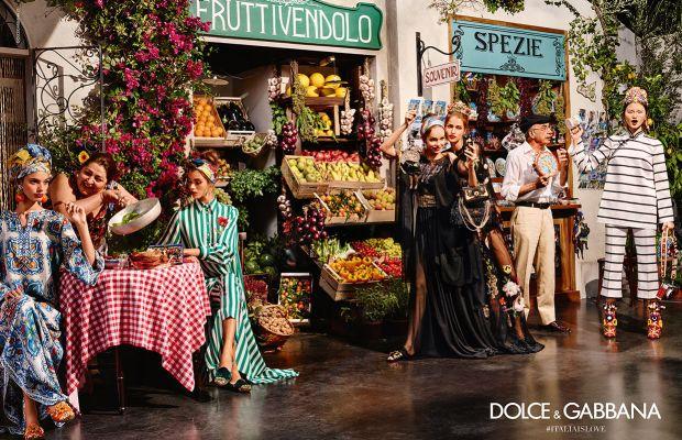 The Dolce & Gabbana summer 2016 campaign. Photo: Dolce & Gabbana