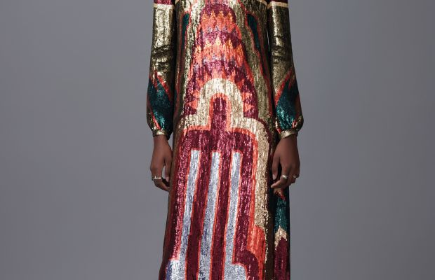 A look from Valentino's pre-fall 2016 collection. Photo: Valentino