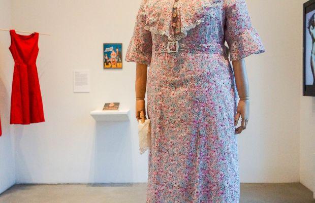 Marie Dressler Dress, mid to late 1930s Gottfried Co., Cleveland, Ohio Printed cotton, lace, metal, plastic  Courtesy NYU Costume Studies MA Program