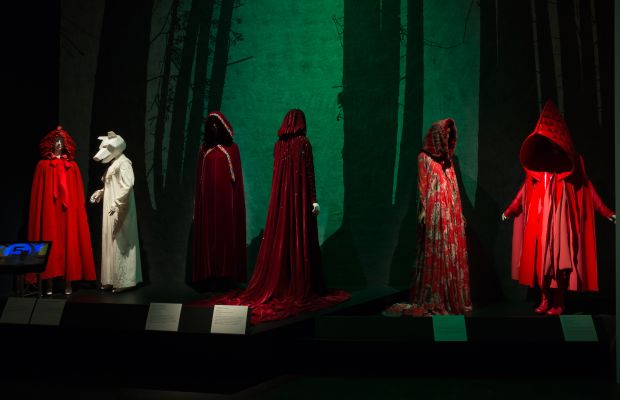 """The """"Little Red Riding Hood"""" gallery inside """"Fairy Tale Fashion."""" Photo: The Museum at FIT"""