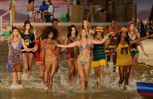 Tommy Hilfiger's spring 2016 Insta-moment. Photo: Imaxtree