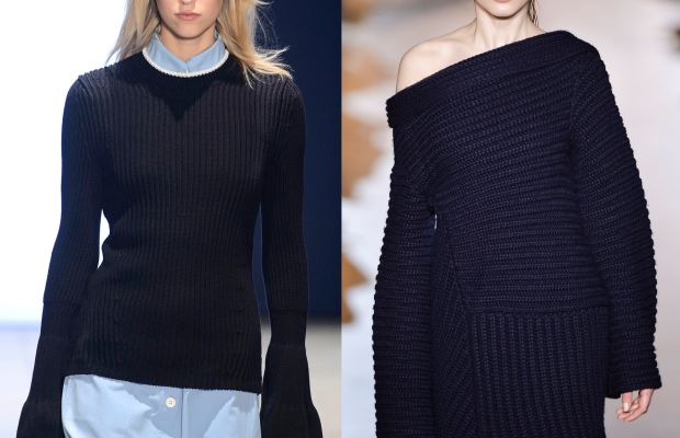 Derek Lam spring 2016 and Stella McCartney fall 2015. Photo: Imaxtree