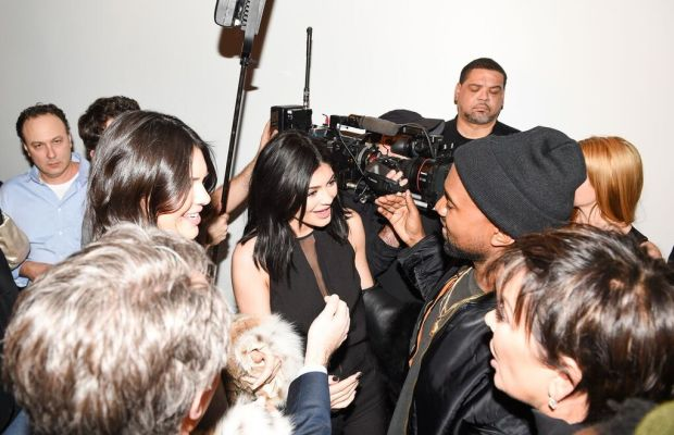 A typical situation for the Kardashian/Jenner/West family. Photo: Billy Farrell/BFA.com