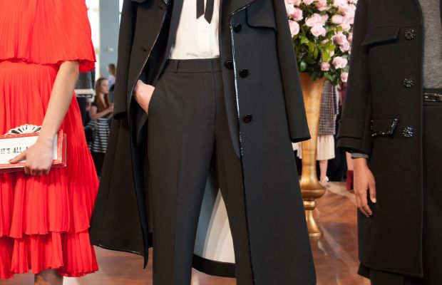 A look from Kate Spade's fall/winter 2016 presentation. Photo: Imaxtree