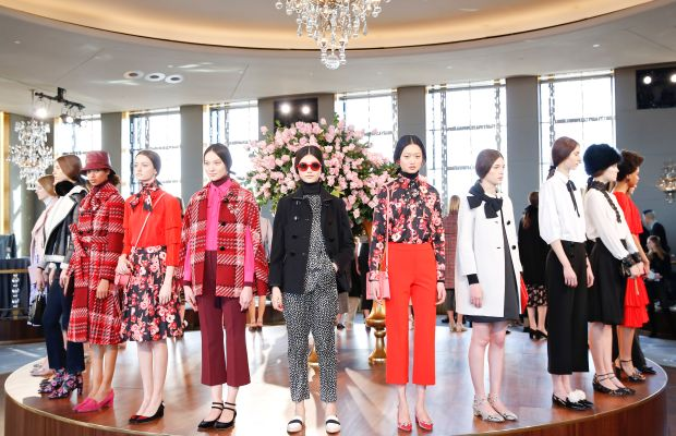 The Kate Spade fall 2016 presentation at the Rainbow Room. Photo: Brian Ach/Getty Images
