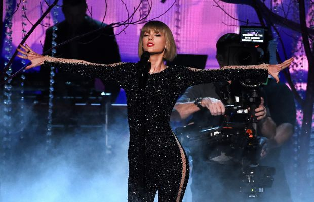 Taylor Swift opening the 2016 Grammy Awards. Photo: Kevin Winter/WireImage