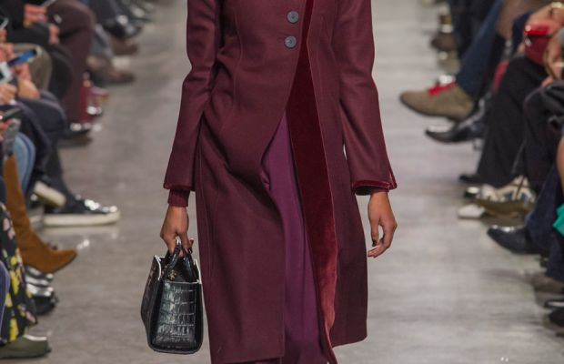 A look from Zac Posen's fall 2016 collection. Photo: Imaxtree