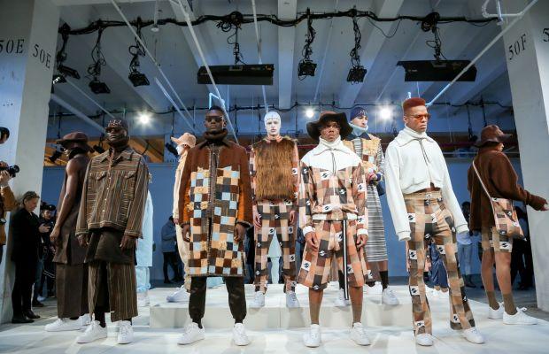 Gypsy Sport at New York Fashion Week: Men's. Photo: Jonathan Grassi