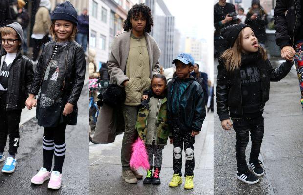 On the street at New York Fashion Week. Photo: Angela Datre/Fashionista
