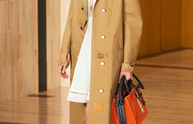 A look from Coach's fall 2016 show. Photo: Coach