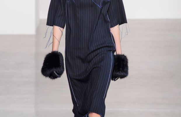 A look from Calvin Klein's fall/winter 2016 collection. Photo: Imaxtree