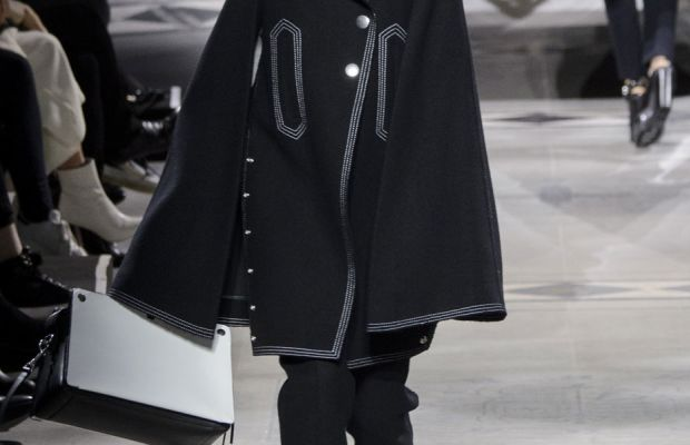 A look from Mulberry's fall 2016 collection. Photo: Imaxtree