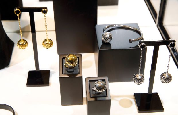Pieces in By Kilian's scented jewelry collection. Photo: Bertrand Rindoff Petroff/Getty Images