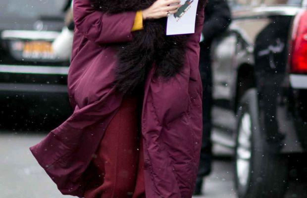 Caroline Issa at New York Fashion Week. Photo: Imaxtree