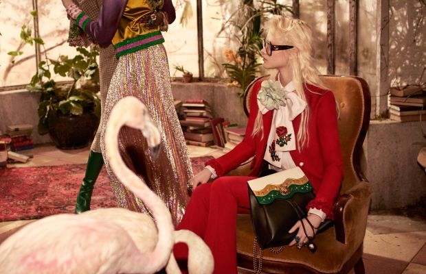 An image from the Gucci pre-fall 2016 campaign. Photo: Glen Luchford