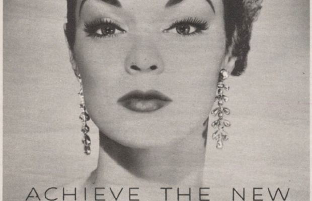 Ad from 1950. Photo: Maybelline