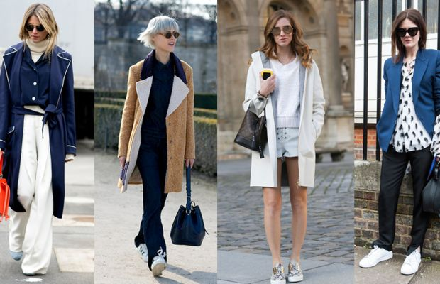 Bucket bags, as seen on showgoers in New York, London and Paris this February. Photos: Imaxtree