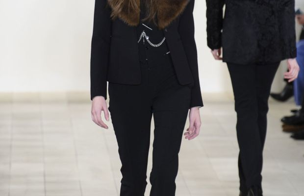 A look from Ralph Lauren's fall 2015 collection. Photo: Imaxtree