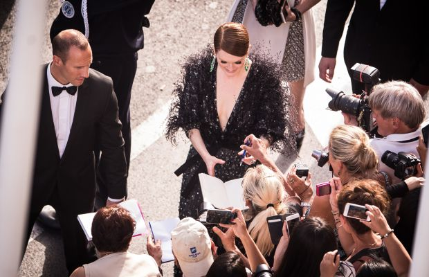 Julianne Moore at Cannes. Photo: Francois Durand/Getty Images