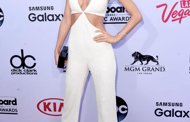Taylor Swift in Balmain. Photo: Jason Merritt/Getty Images