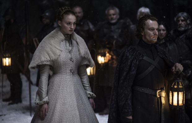 Don't do it, Sansa. Photo: Helen Sloan/HBO