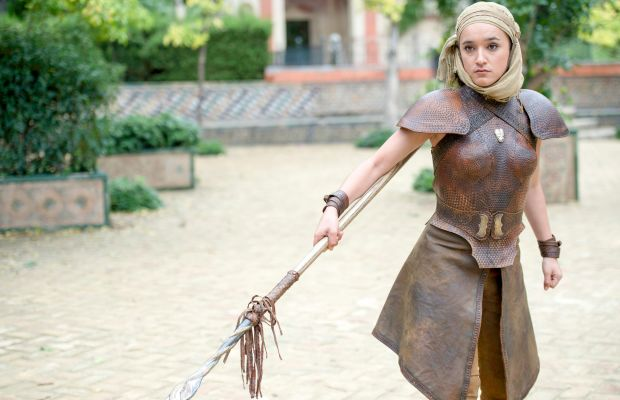 Does that leather armor chafe? Macall B. Polay/HBO