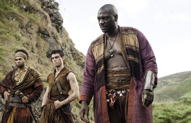 Prosperous-looking slavers. Photo: Helen Sloan/HBO
