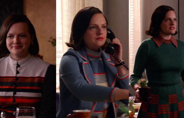 Peggy's perfect stripes and perfect bob. Screengrab: AMC