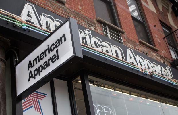 An American Apparel store. Photo: Andrew Burton