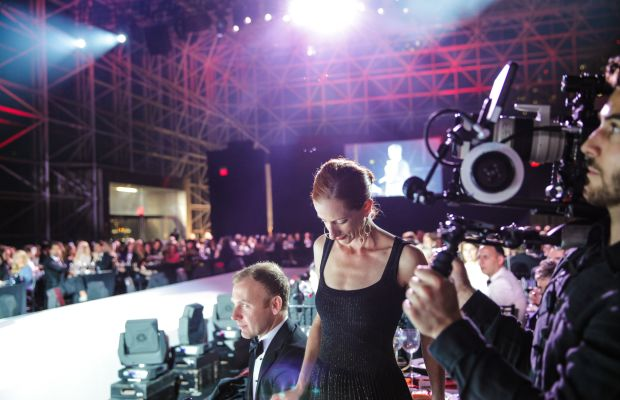 Vanessa Friedman gave a keynote address as the Parson Fashion Benefit. Photo: Parsons/BFA