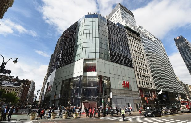 H&M opened its largest store ever in Herald Square on Wednesday. Photo: H&M