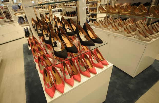 A small portion of the shoe section. Photo: H&M