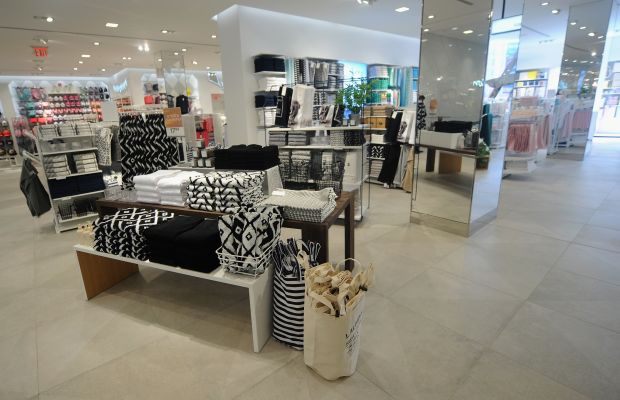 A glimpse at the home section. Photo: H&M