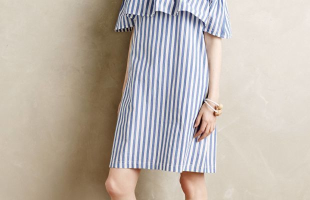 Whit Two Rehoboth Stripe Mini Dress, $168, available at Anthropologie.