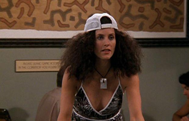 """It's the humidity!"" Screengrab: ""Friends""/NBC"
