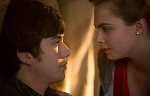 """Nat Wolff as Quentin Jacobson and Cara Delevingne as Margo Roth Spiegelman in """"Paper Towns."""" Photo: TM & © 2014 Twentieth Century Fox Film Corporation. All Rights Reserved."""