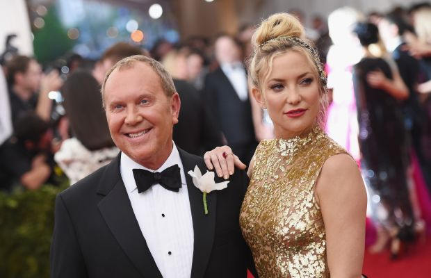 Michael Kors and Kate Hudson at the Met Gala in May. Photo: Mike Coppola/Getty Images