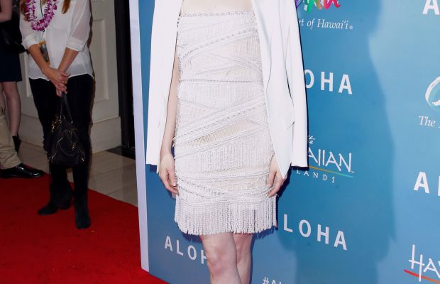 """Emma Stone at a screening of her new film, """"Aloha."""" Photo: Frederick M. Brown/Getty Images"""