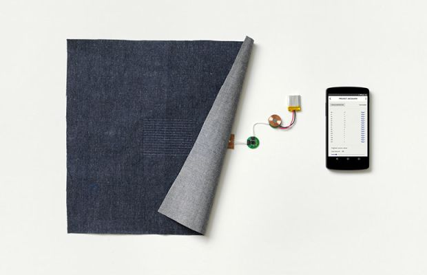A preview of Google's new textile, Jacquard. Photo: Google