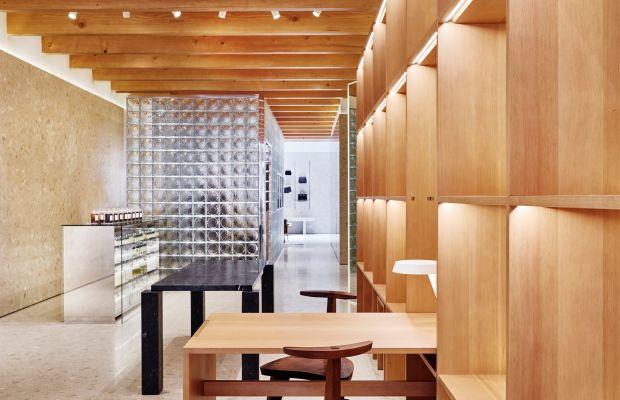 Byredo's Soho store. Photo: Byredo
