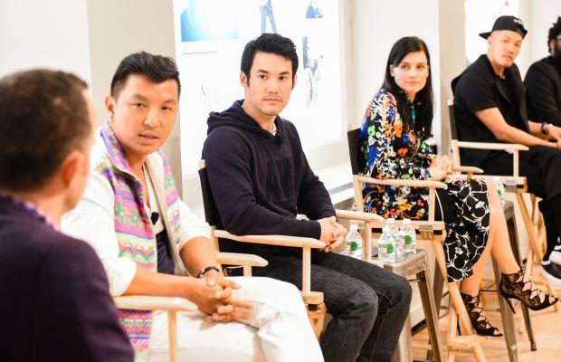 Prabal Gurung, Joseph Altuzarra, Tabitha Simmons and Dao-Yi Chow. Photo: J.Crew